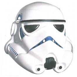La maschera di uno Storm Trooper, dalla saga di Guerre Stellari (Star Wars)