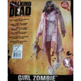 Costume Zombie Girl (Walking Dead)