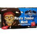 Maschera da pirata zombi