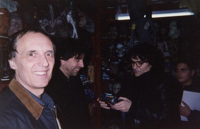 Dario Argento Tim Burton Renato Zero