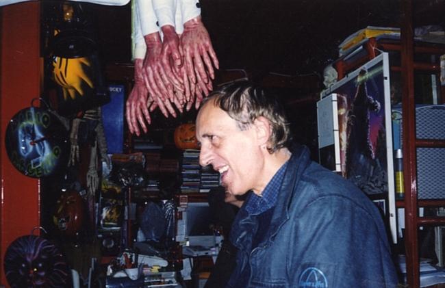 Dario Argento a Profondo Rosso Store