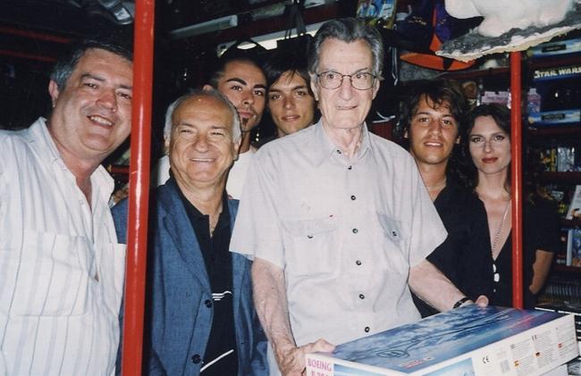 Il regista Carlo Lizzani a Profondo Rosso