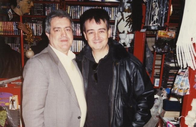 Luigi Cozzi e Claudio Simonetti (Goblin)