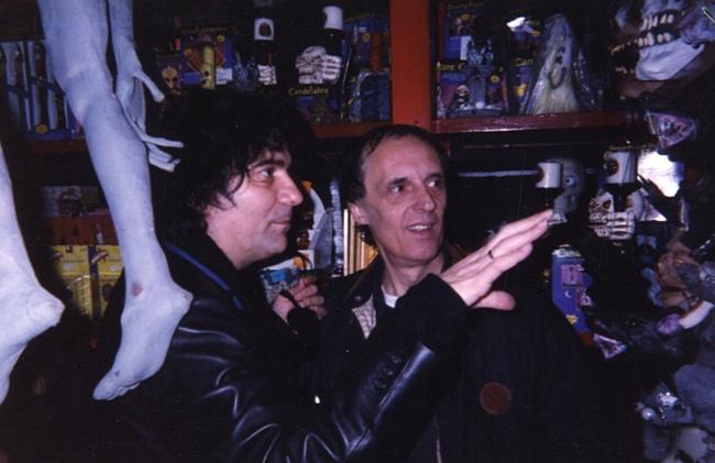 Renato Zero e Dario Argento